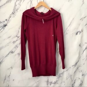 The limited NWT cowl neck off the shoulder sweater